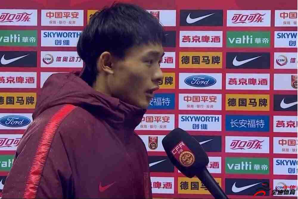 刘若钒:能用进球帮助球队获胜很开心,希丁克很可爱