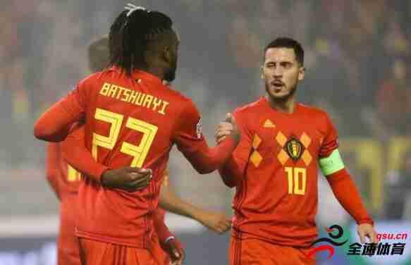 比利时三连胜送冰岛降级 末轮战瑞士平局即晋级