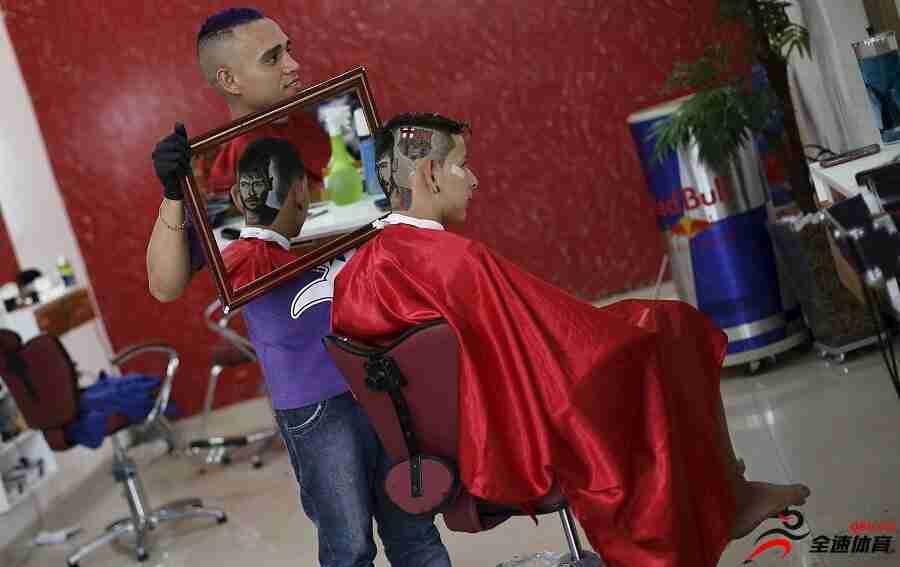 内马尔的发型演变史