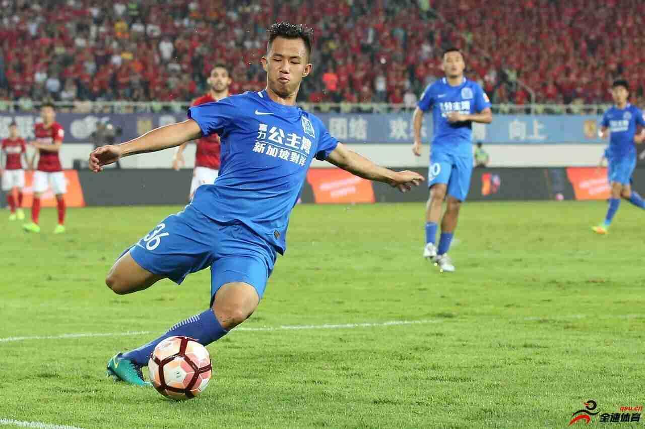 黄政宇:希丁克让国奥踢球更合理 盼接下来做好防守