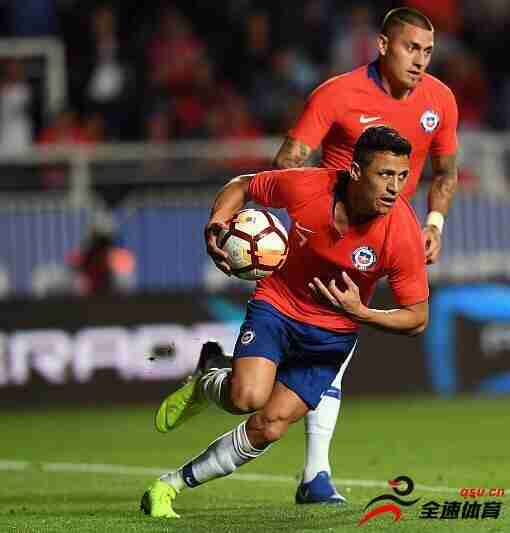 热身赛-桑切斯失点+破门智利2-3 韩国1-1遭绝平