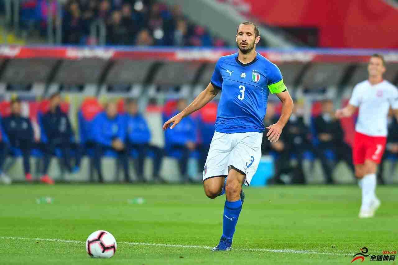基耶利尼是现意大利国家队阵中射手王