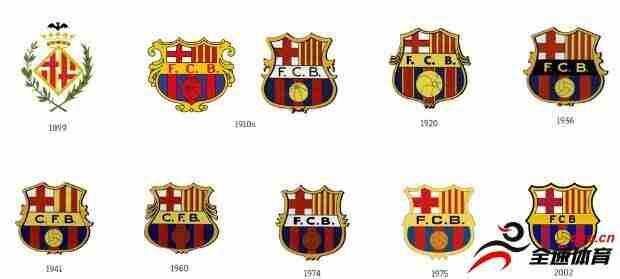 巴萨的新队徽将在下赛季投入使用