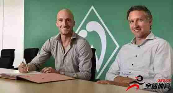 卡尔迪罗拉和不莱梅签下两年合约