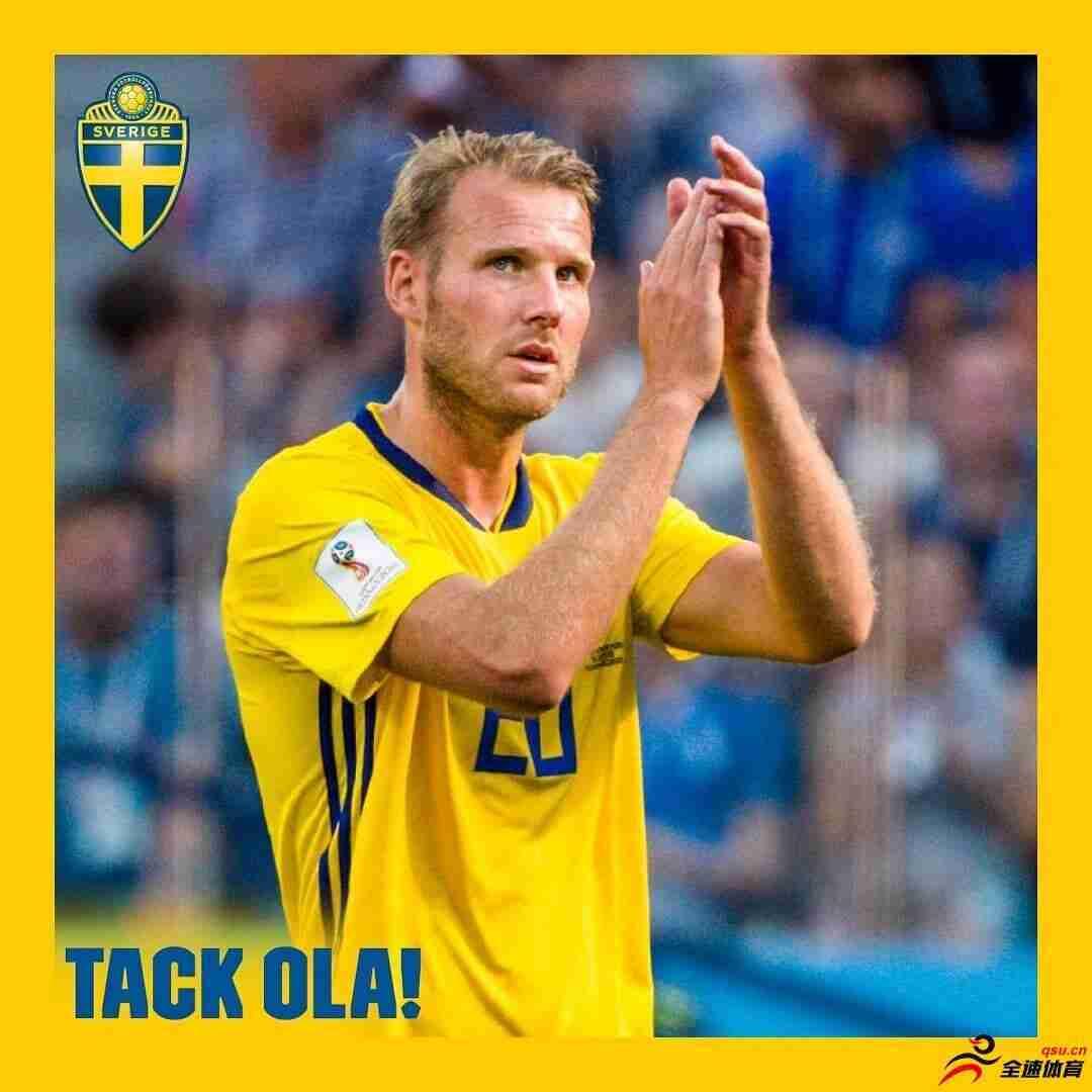 托伊沃宁正式退出瑞典国家队