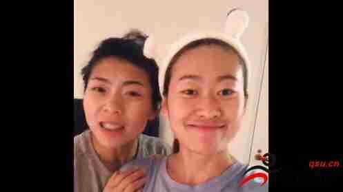 王霜晒视频,队友古雅沙&吴海燕调侃霜妹英语