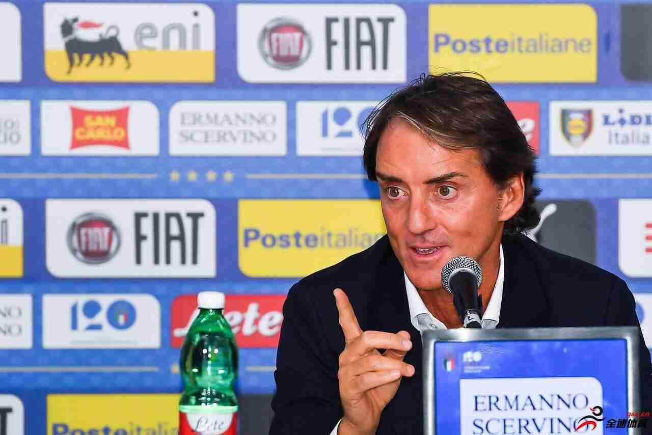 曼奇尼:意大利要为2020年欧洲杯做足准备