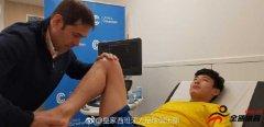 正接受体检,西班牙人即将评估武磊左肩伤势