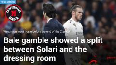 贝尔在西班牙国家德比被换下场后径直回了家