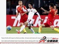 伊朗队和中国男足的一战的最新出战名单