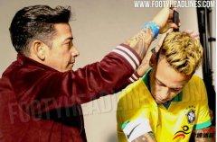 <b>巴西美洲杯球衣谍照:主场沿用黄色,客场重选白色</b>