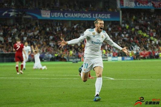 贝尔被欧足联官方评选为欧冠决赛的最佳球员