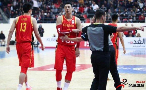 中国男篮世界杯小组赛65-78负于约旦男篮