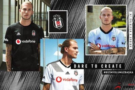 阿迪达斯携手土耳其贝西克塔斯俱乐部发布球队2019/20赛季球衣