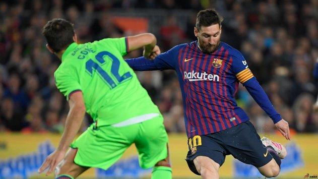 2018-19赛季西甲第35轮,巴萨1-0击败莱万特,提前拿下西甲联赛冠军