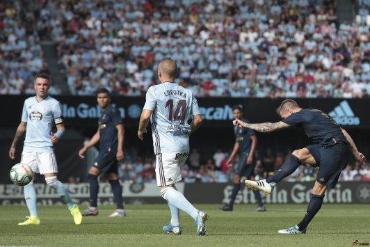 西甲联赛首轮中克罗斯是皇马战胜塞尔塔的决定因素