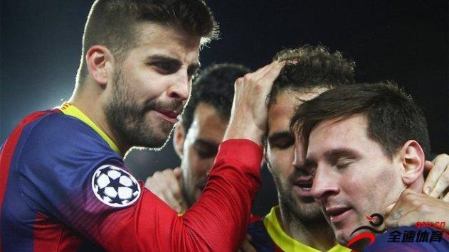 梅西与法布雷加斯将入股皮克收购的安道尔俱乐部安道尔FC
