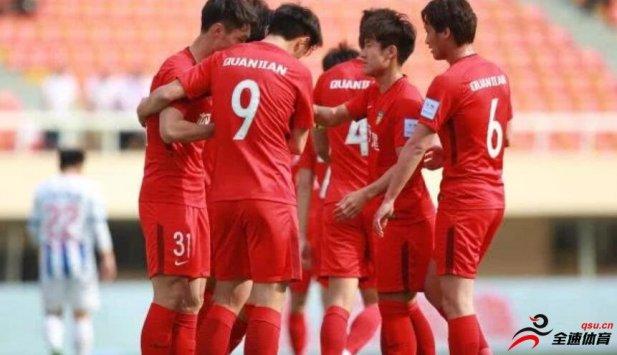 足协杯第四轮,天津权健3:0大连千兆
