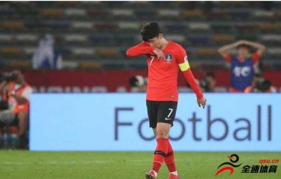 亚洲杯1/4决赛,韩国队0-1不敌卡塔尔队