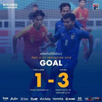 国青3-1逆转泰国,为国争光好样的