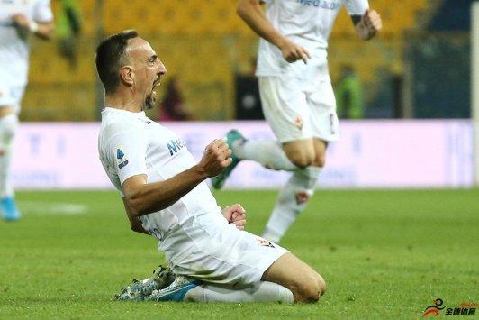 罗体:表现出色,里贝里彻底征服佛罗伦萨球迷