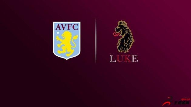 阿斯顿维拉球衣,英国服装品牌LUKE1977成为球队下赛季正装赞助商