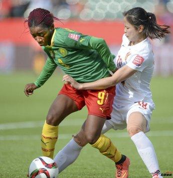喀麦隆女足以2-1的比分战胜克罗地亚女足