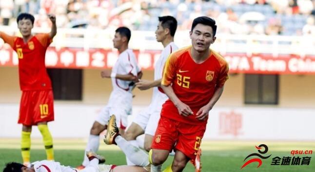 中国U-23国家队坐镇重庆迎战朝鲜U-23国家队