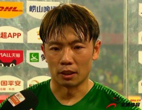 张稀哲:球队今天踢得有些乱 今年面对强队