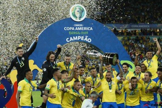 2019美洲杯冠军巴西