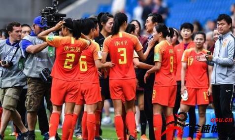 2019法国女足世界杯1/8决赛中国女足与意大利的比赛