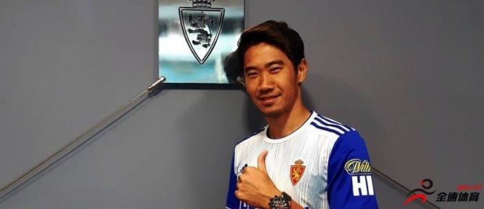 多特官方宣布,球队的日本中场香川真司转会萨拉戈萨