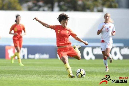 阿尔加夫杯11和12名的排位赛中 中国女足1比
