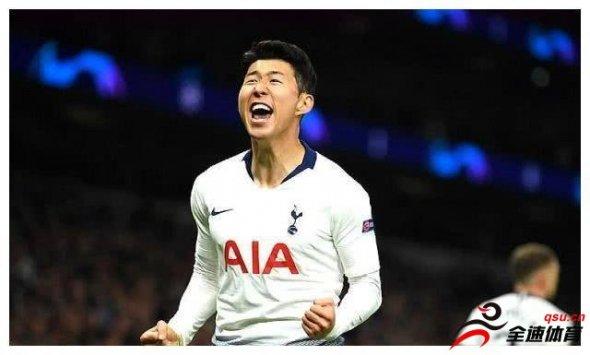 孙兴慜绝杀 热刺新球场建成以来迎来的首场欧冠比赛