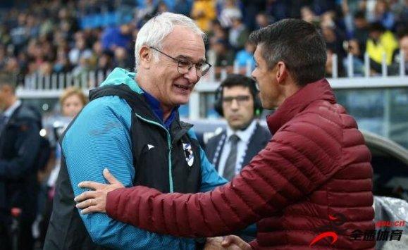 拉涅利率队和老东家罗马0-0握手言和