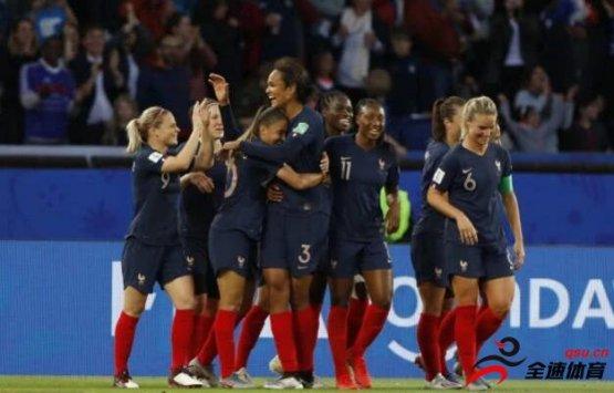 女足世界杯小组赛:法国女足被认为是夺冠热门