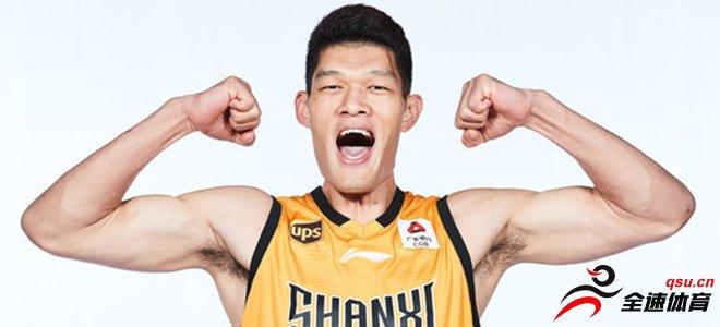 葛昭宝担任山西男篮新赛季队长