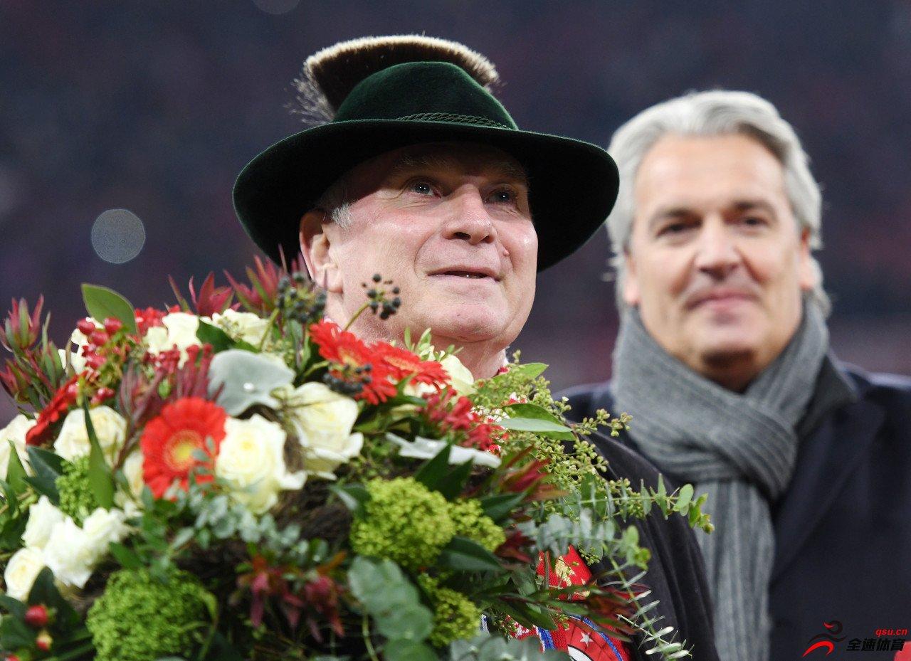 德媒评拜仁教练和高层半程体现:弗里克2分,赫内斯3分