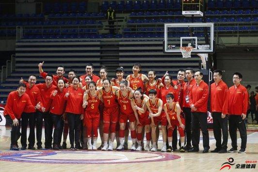 女篮世界排名:中国队下滑一位排第九 位列亚洲第一