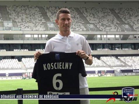 科斯切尔尼在波尔多的周薪大约为6万欧元