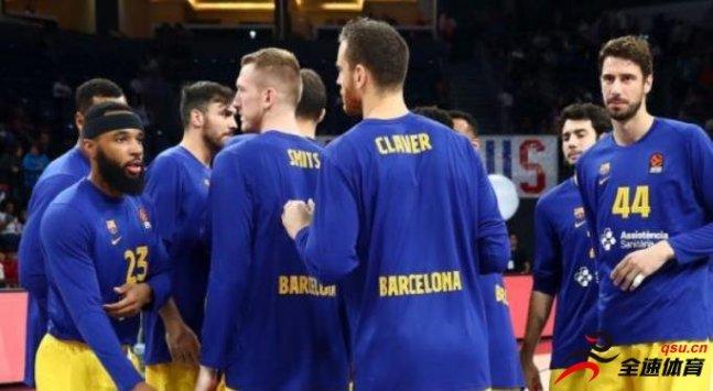 巴塞罗那篮球俱乐部能会因为疫情而减少球员