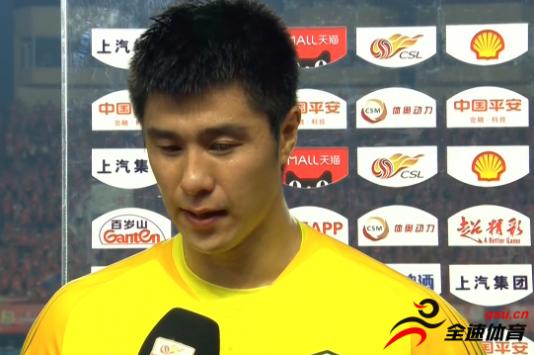 侯森:自从年初受伤之后一直在康复
