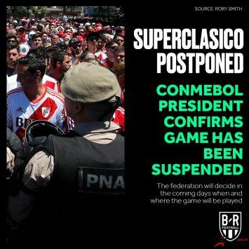 解放者杯决赛次回合再次延期