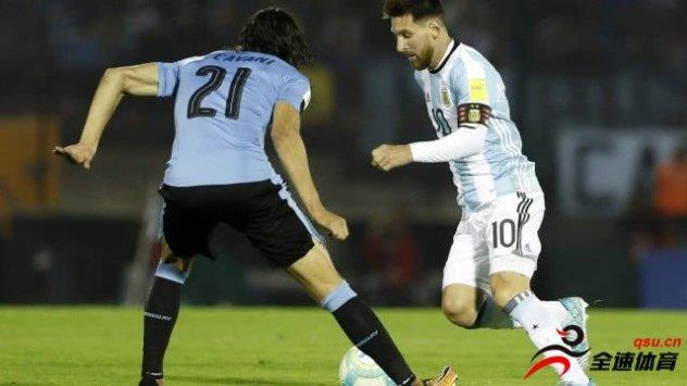 阿根廷VS乌拉圭两队赛前公布首发阵容