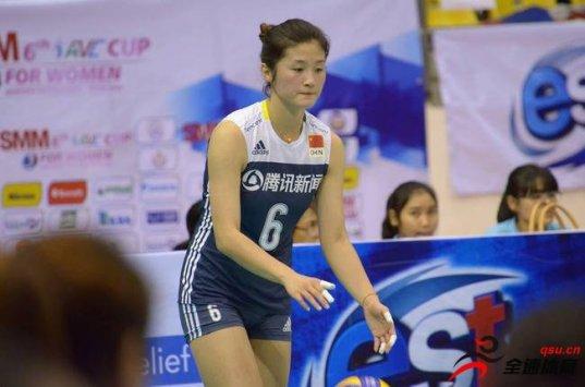 女排亚洲杯中国二队3-2克泰国