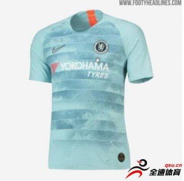 著名球衣网站曝光切尔西下赛季客场球衣谍照