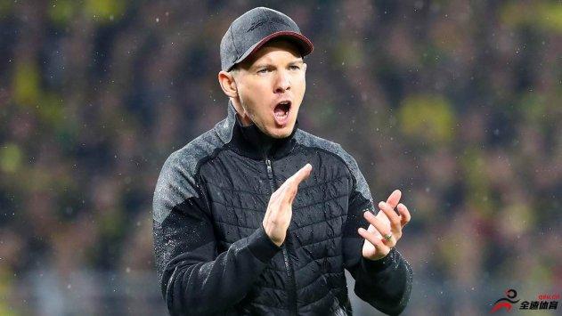 纳格尔斯曼:我们必须要在下半程击败拜仁和