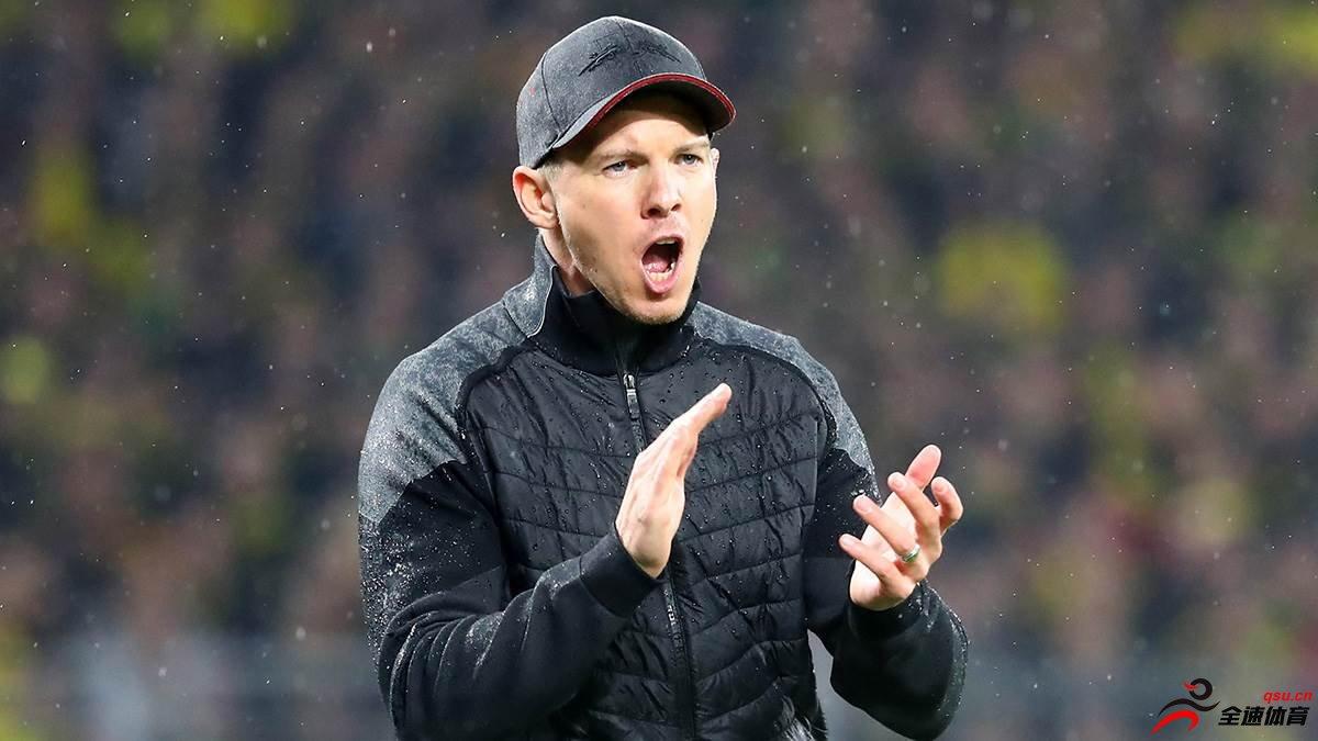 纳格尔斯曼:我们必须要在下半程击败拜仁和多特蒙德