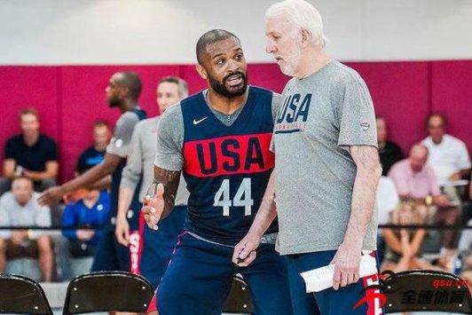 火箭队大前锋PJ-塔克已经决定退出美国男篮
