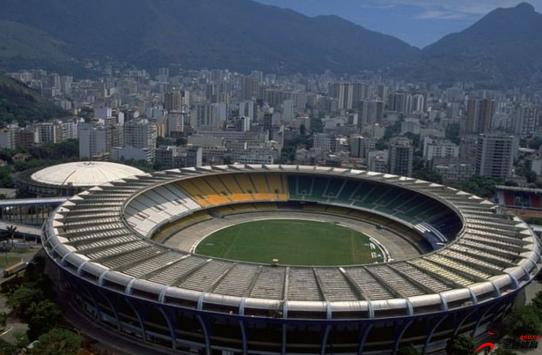 南美解放者杯决赛在巴西里约的马拉卡纳球场